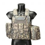 Fully Loaded Tactical Molle Combat Strike Plate Carrier CIRAS Vest