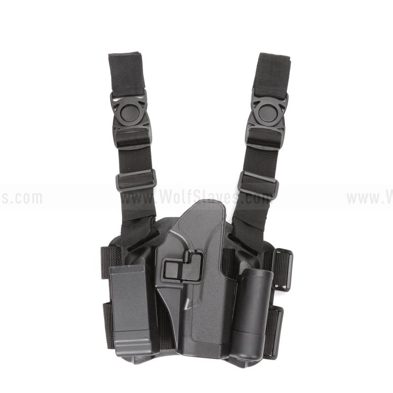 CQC GLOCK 17 22 31 RightHand Pistol Paddle & Belt Drop Leg Holster