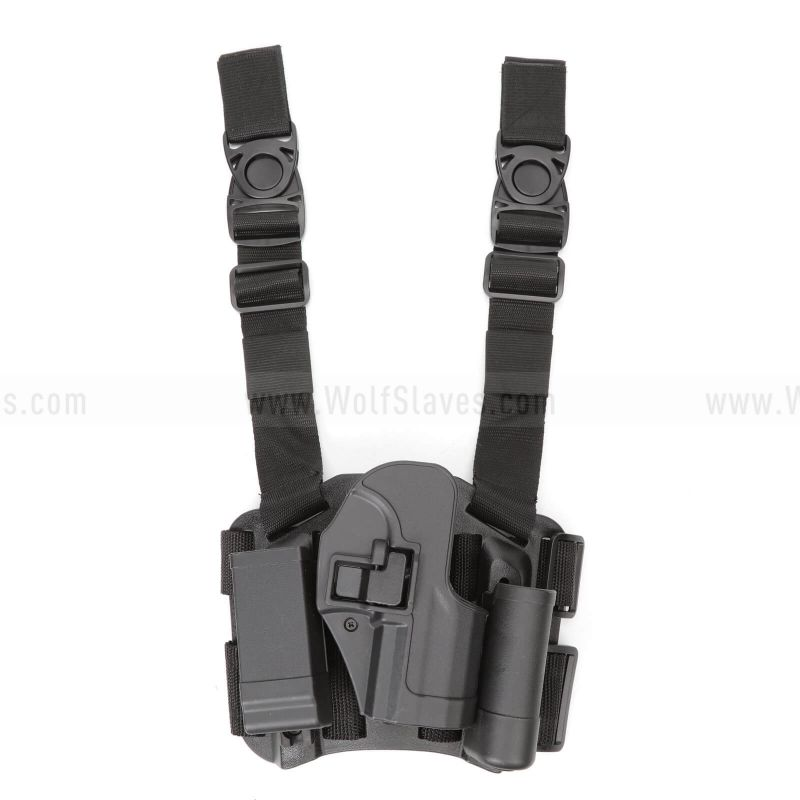 CQC H&K USP Compact RightHand Pistol Paddle & Belt Drop Leg Holster