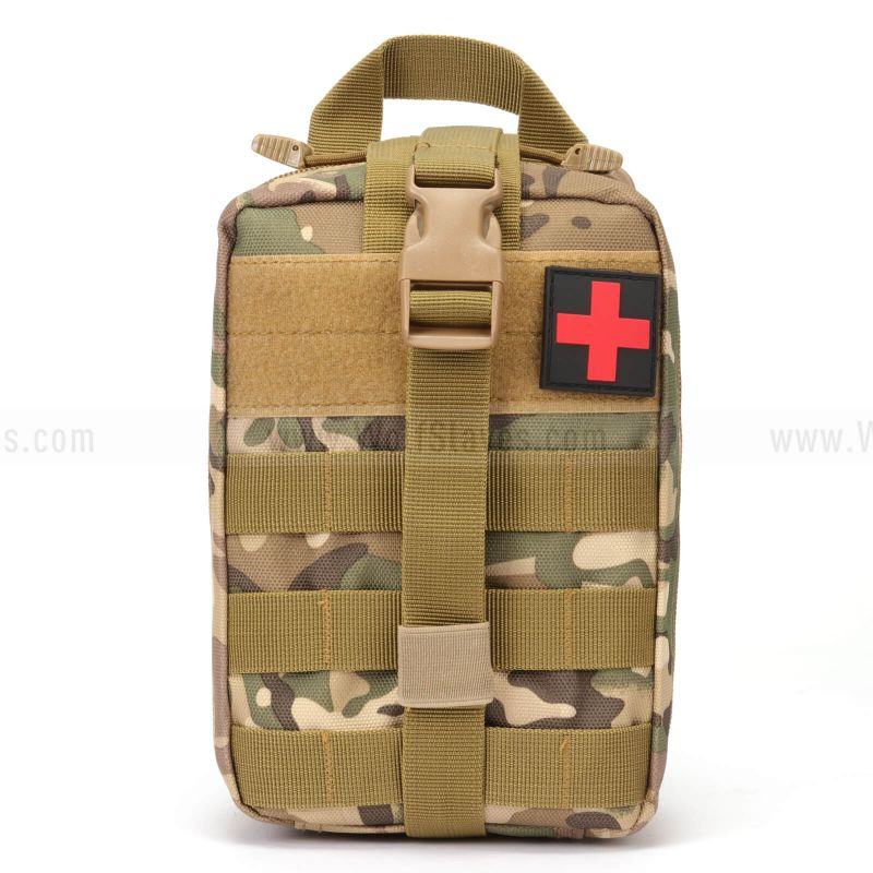 Tactical 1000D Compact MOLLE Rip-Away EMT Medical First Aid Utility Pouch