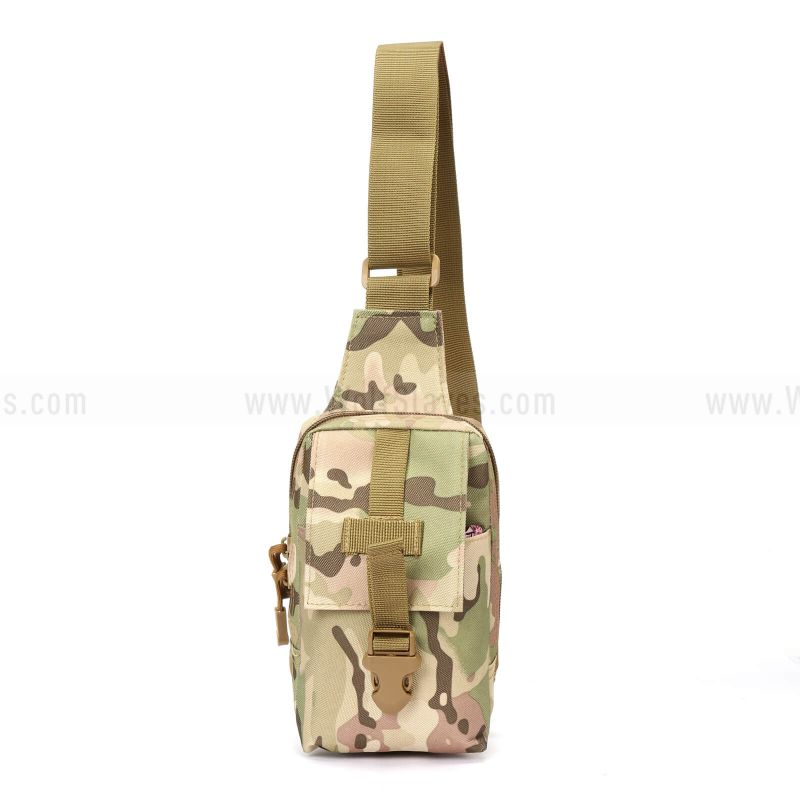 Tactical Military Waist Pack Pouch With Water Bottle Pocket Holder Hip Belt Bag