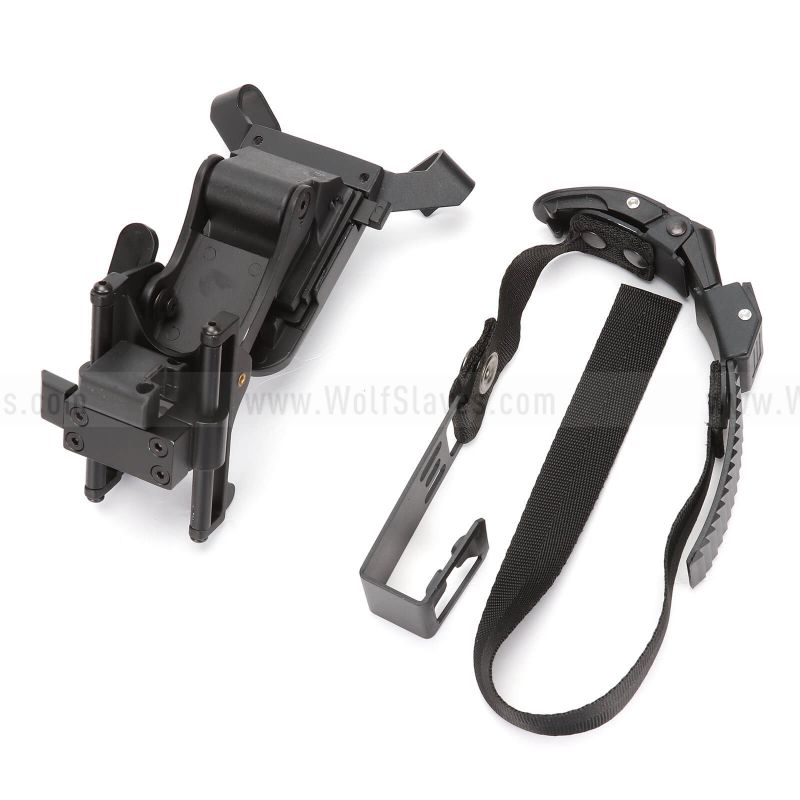Tactical NVG PVS-7 14 Goggle Helmet Rhino Arm Mount Kit For M88 Helmet
