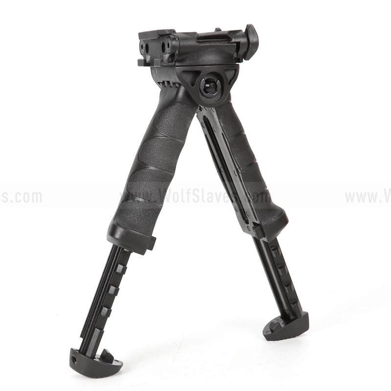 Tactical T-POD 20mm QD Rails RIS Spring  Bipod Foregrip Grip Ver.2