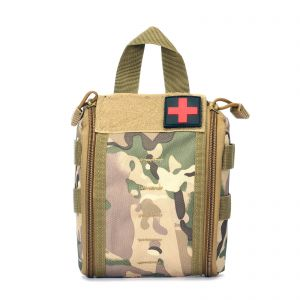 Tactical MOLLE Rip-Away EMT Medical First Aid Utility Pouch Bag Emergency Military Medical Bag