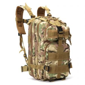 Sport Outdoor 3P Assault Pack Military Tactical Backpack Molle Rucksack Waterproof Nylon For Hiking Camping Trekking Hunting