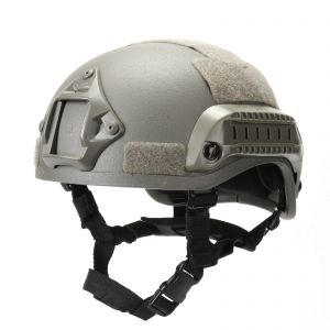 Tactical MICH 2001 ACH Helmet with NVG Mount &Side Rail Action Ver.