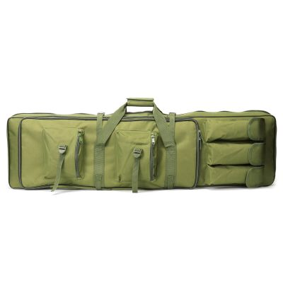 100cm Tactical Dual Rifle Carrying Gun Bag w/ Mag Pouches