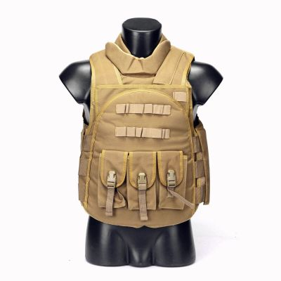 Military Vest Four In One Tactical Vest Top Quality Nylon Airsoft Paintball Combat Assault Protective Vest
