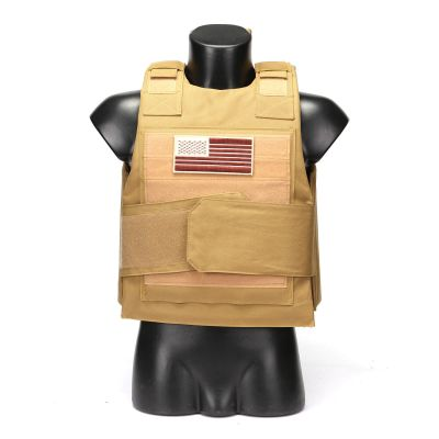 Black Hawk Special Operation Unit Tactical Down Body Armor Plate Carrier Vest