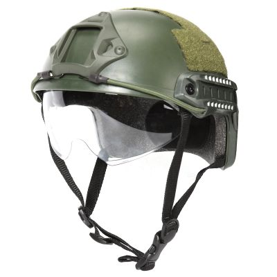Tactical Ballistic  Protective Goggle Glass for FAST Helmet