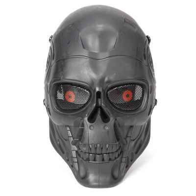 Full Face Airsoft Mask CS Wargame Field Spiel Cosplay Terminator Film Military Mask