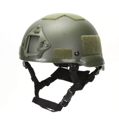 MICH 2002 Combat Protective Helmet with NVG Mount for Airsoft Tactical Military Paintball Hunting