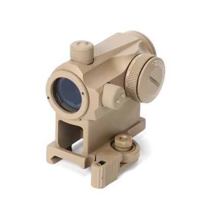 T-1 Red Green Dot Sight With 20mm Weaver Rail Mount Tactical Airsoft RifleScope Hunting Shooting
