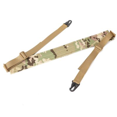 Tactical 2 Two Point Dilated Soft Shoulder Strap Adjustable Bungee Sling Shotgun Rifle Sling