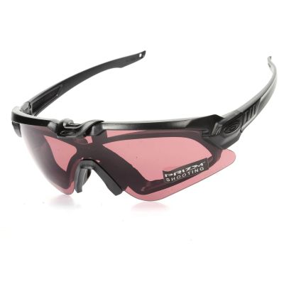Tactical 2in1 Goggle & Sunglasses Incloud PRIZM Lenses |Sporting Shooting Glasses  3Lens Fit For 2 Style Frame