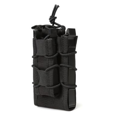 Tactical 5.56 Rifle Mag Pouch for M4 M16 with Pistol Magzine Pouch High Quality Version