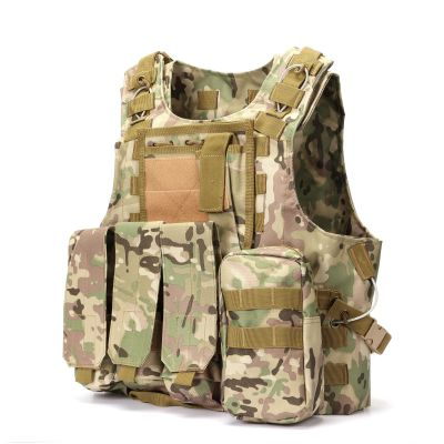 Tactical Combat Vest USMC MOD Molle Assault Plate Carrier Vest