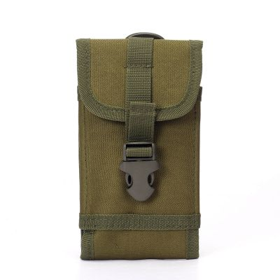Tactical Molle Phone Belt Pouch EDC Securtiy Pack Small Waist Case