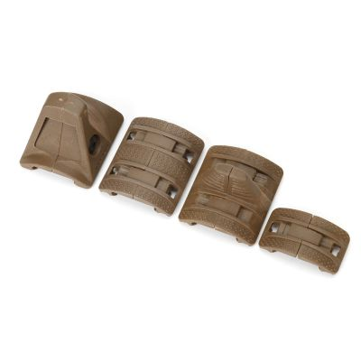 Tactical XTM Hand Stop Kit Grip For 20mm RIS Rails System
