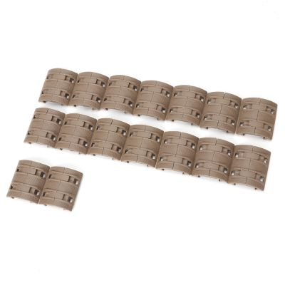 Tactical  XTM Modular Rail Panels Cover Set of 32 Pcs