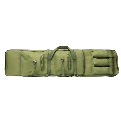 120cm Tactical Dual Rifle Carrying Gun Bag w Mag Pouches
