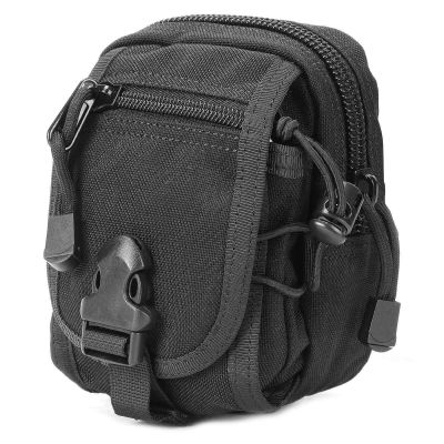 1000D Nylon M1 Molle Tactical Waist Bag EDC Pouch Utility Gadget Belt Waist Bag with Cell Phone Holder
