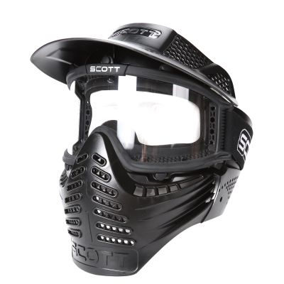 Scott Full Face Clean Lens Paintball Goggle Mask