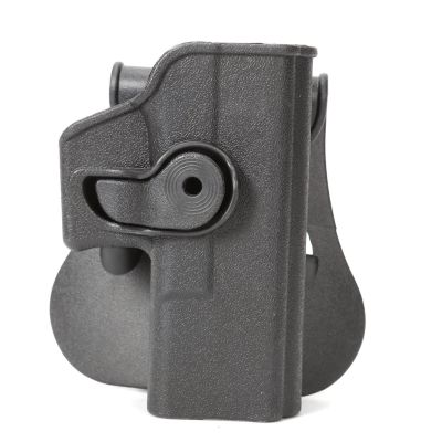 IMI Style Beretta Glock 17 / 19 Pistol Paddle Holster With 2 Magazine (R.H)
