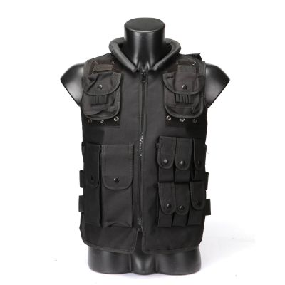 Outdoor Airsoft Tactical Waistcoat Body Armor CS Paintball Combat Swat Vest