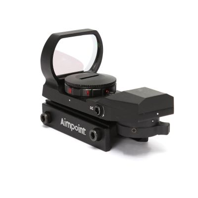 Tactical 4 Reticles Shot Reflex Red Dot Sight With 22mm Rail Mount