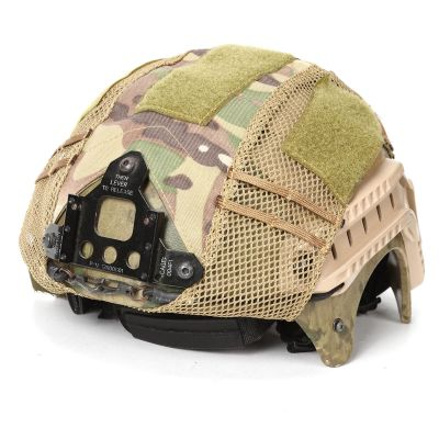 Tactical Airsoft Paintball Hunting Shooting Gear Combat Fast Helmet Cover