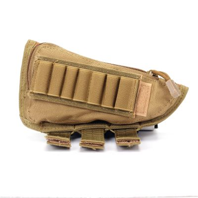 Tactical Airsoft Shotgun Rifle Ammo Pouch Cheek Pad