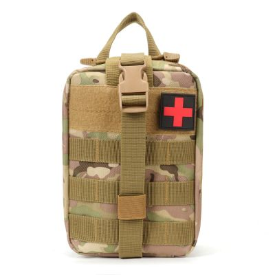Tactical Compact MOLLE Rip-Away EMT Medical First Aid Utility Pouch