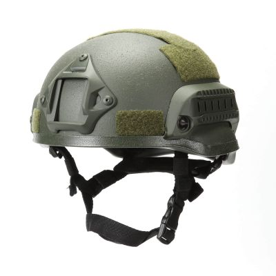 Tactical MICH 2002 ACH Helmet with NVG Mount &Side Rail Action Ver.
