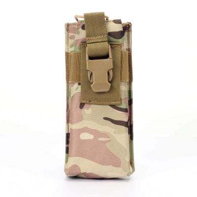 Tactical Molle Large Radio Pouch Bag Walkie Talkie Pouch