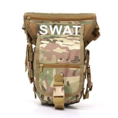Tactical Swat Drop Leg Utility Waist Pouch Carrier Bag