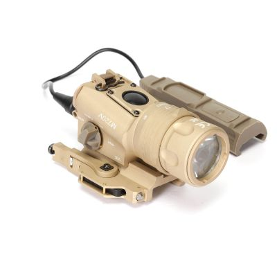 Upgraded Airsoft TB-M720V Tactical Flashlight Constant/Mementary/Strobe Weapon Gun Light QD Mount with Tail Switch